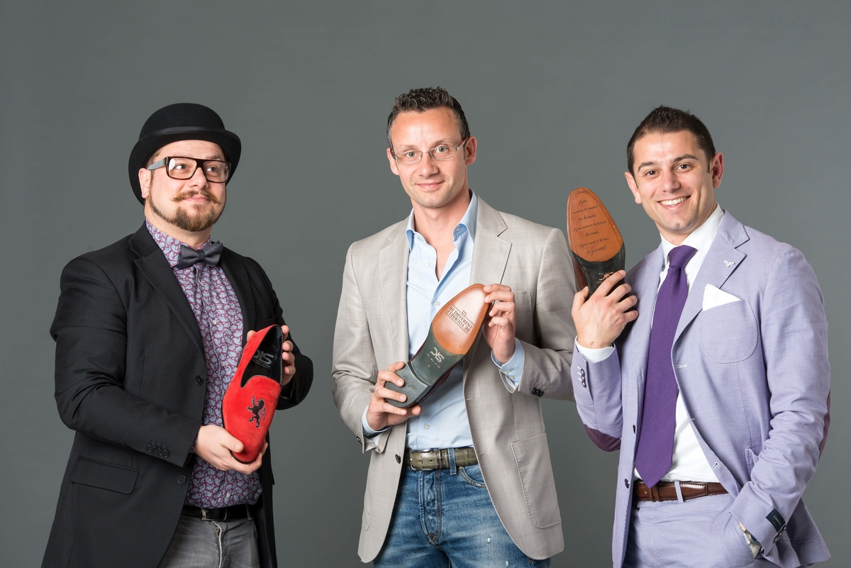 Andrea Carpineti e il Team di DIS - Design Italian Shoes