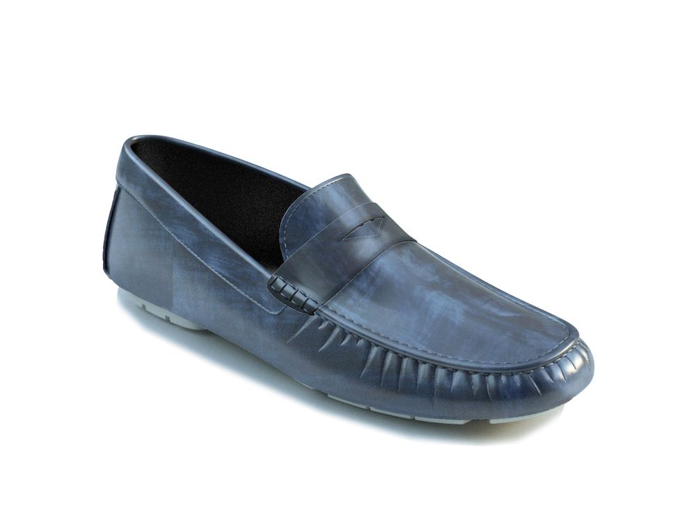 leather driver shoes