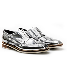 Volta - Silver Derby Shoes